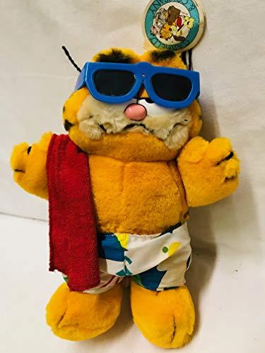 1978 Garfield - Dakin Garfield Beach Bum 1978-81 Plush appx 8.5