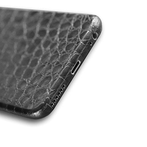 appskins anteriore iPhone 6S Alligator Black