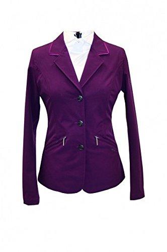Horseware Ireland Ladies Competition Jacket, Berry, Youth -