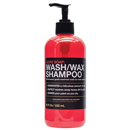 Shine Society's Dope Soap Car Wash and Wax Shampoo (16 oz)