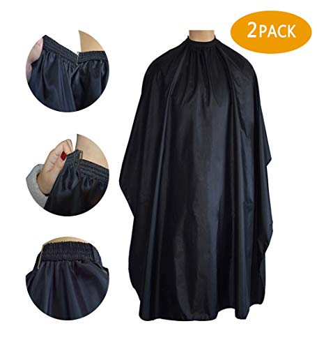 Magiczone Professional Barber Cape - Salon Cape with Snap Closure - Nylon Hair Cutting Cape, Hairdresser Cape - 59