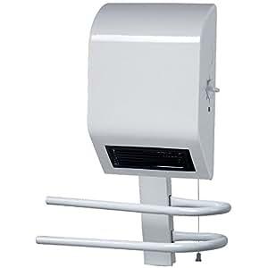 PVM-Calefactor de pared con toallero