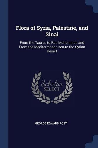 Read Online Flora of Syria, Palestine, and Sinai: From the Taurus to Ras Muhammas and From the Mediterranean sea to the Syrian Desert pdf