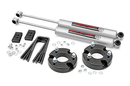 Rough Country 52230-2-inch Leveling Lift Kit with Shocks for 09-18 (F150 Pickup 4wd Kit)