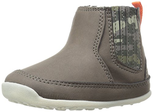 Carter's Every Step Stage 3 Boy's Walking Shoe, Connor, Grey/Camo, 5 M US Toddler