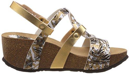Desigual Shoes_bio 9 Anissa Butterfly - Sandalias Mujer Negro - Schwarz (2000 NEGRO)