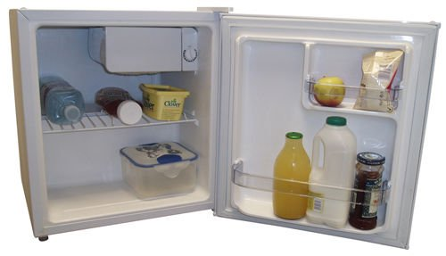 NEW L TABLE TOP FREE STANDING MINI FRIDGE CW ICE BOX COMPACT - Small table top refrigerator