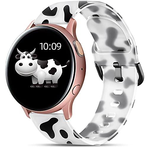 malla para Samsung Watch 4/Watch 4 Classic 40 44mm cow