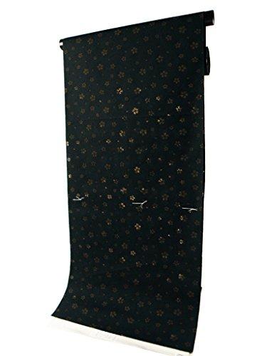 編集するリンク旋律的女性自身 ゆかた 反物 浴衣 オパール 上品な透け感 黒系 su-189-A