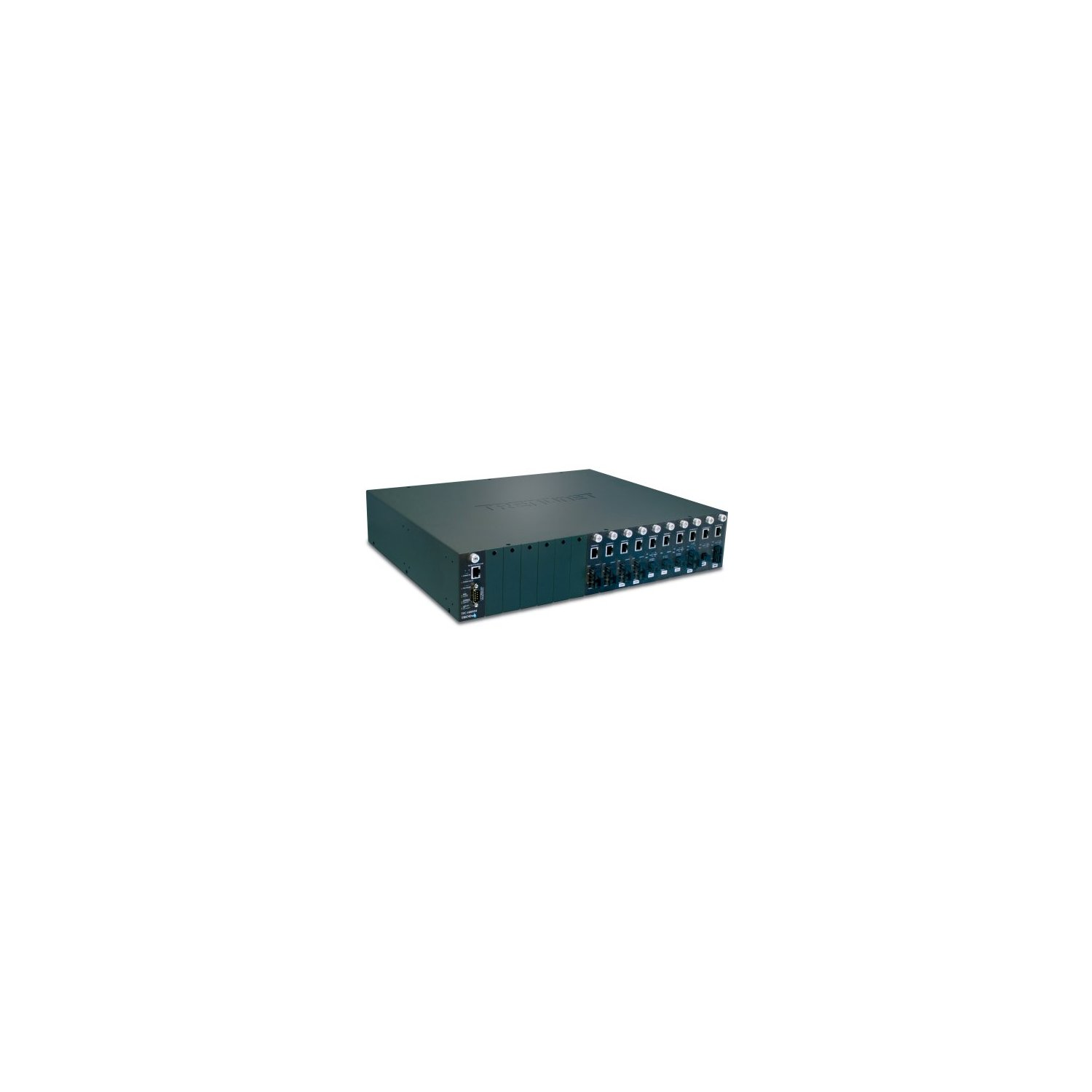 TRENDnet 16-Bay Fiber Converter Chassis System SNMP Management Module, TFC-1600 (Chassis Slot Snmp)