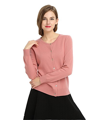 Pink 100% Cashmere Sweater - 4