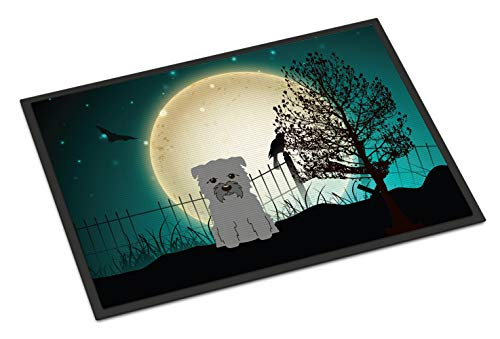 Caroline's Treasures Halloween Scary Glen of Imal Grey Indoor or Outdoor Mat 24x36 BB2249JMAT 24 x 36