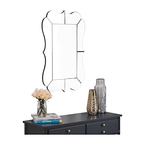 Abbyson Living TM-GD-8141 Mirror, Silver for sale  Delivered anywhere in USA