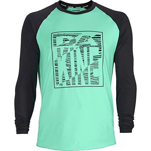 Dakine Dropout Long-Sleeve Jersey - Men's Electric Mint, L (New Jersey Mint)