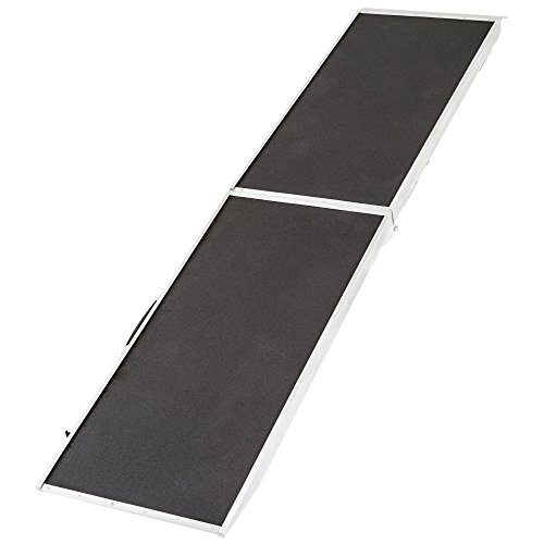 Rage Powersports DR-08XW Lightweight Extra Wide Folding Aluminum Pet Ramp ,1 Pack by Rage Powersports
