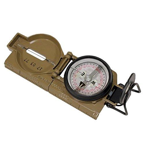 Cammenga Lensatic Tritium Coyote Brown Compass
