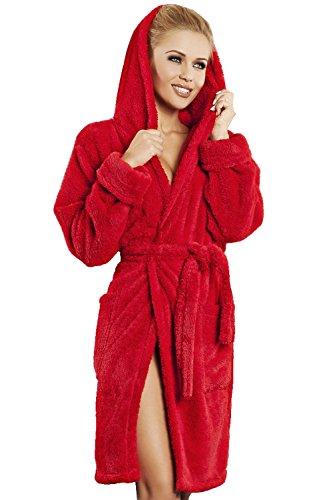 donna Diana accappatoio Rosso da DKaren SHqEwBwx