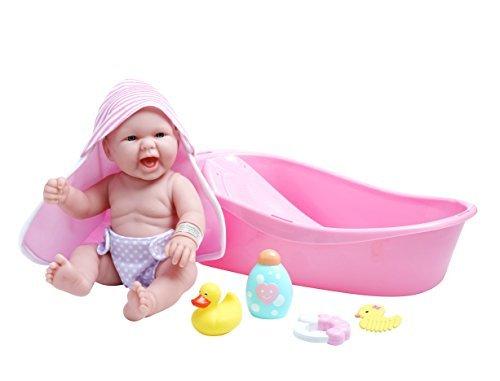 Venta en línea de descuento de fábrica JC Juguetes La Realistic Baby Doll Bathtub Gift Set Set Set FeaturingÃ'Â 13 All Vinyl Newborn Doll (8 Piece) by JC Juguetes  precio mas barato