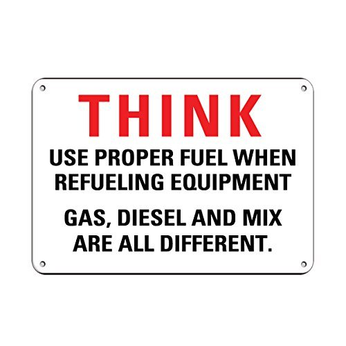 personalized-metal-signs-for-outdoors-attention-refueling-equipment-use-proper-fuel-gas-diesel-mix-a