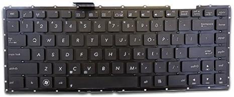 for ASUS X401 X401A X401U 13GN4O1AP030-1 AEXJ1U00010 0KNB0-4100US00 MP-11L93US-920 US Layout Black Color Looleking Laptop Keyboard Without Frame