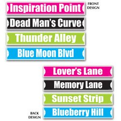 Rock & Roll Street Sign Cutouts   (Lover Lanes Halloween Costumes)