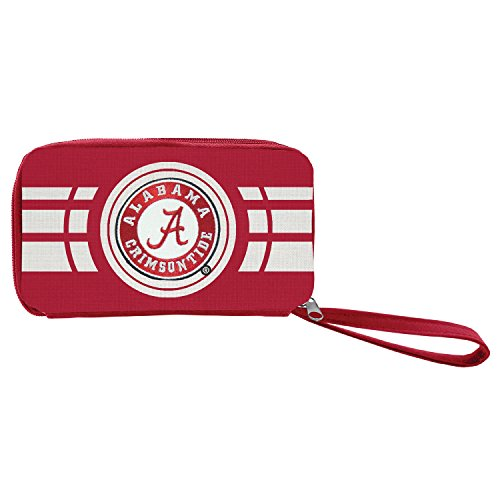 NCAA Alabama Crimson Tide Ripple Zip Wallet (Best Wallet For Ripple)