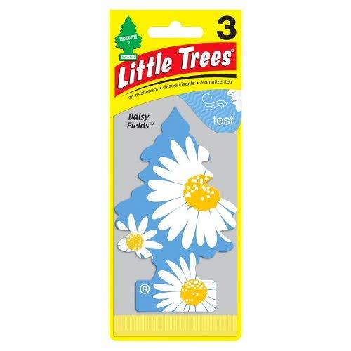 Air Daisy Freshener -  Little Trees Hanging Type Air Fresheners Daisy Fields 3Piece Set (3P) U3s–37347