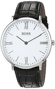 Hugo Boss Men 1513370 Year-Round Analog Quartz Black Watch