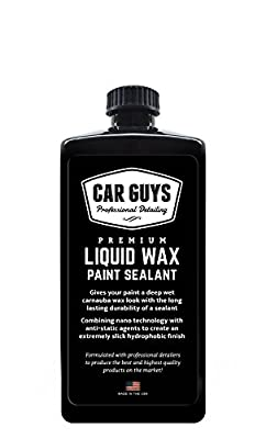 Liquid Wax - CarGuys Professional Detailing