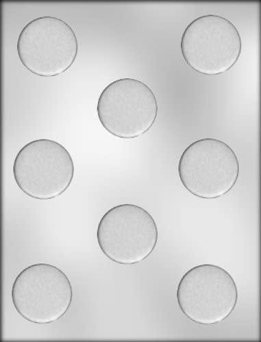 PLAIN 3 1//2 INCH ROUND LOLLY POP mold Chocolate cutomize your own disc circle