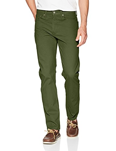 (Levi's Men's 502 Regular Taper Fit Pant, Rainforest Green - Warp Stretch, 30W x 32L)