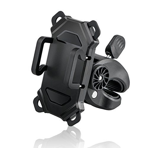 Bike Phone Holder, EEEkit Bike & Motorcycle Cell Phone Mount, 360 Degree Rotation Universal Bicycle Handlebar Mount Cellphone Holder for iPhone X 8 7 6s Plus 5s Android Smartphone by EEEKit