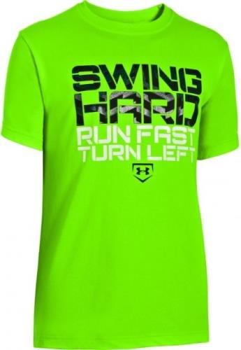 Under Armour Big Boys' UA Swing Hard T-Shirt