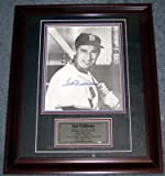 TED WILLIAMS SIGNED AUTO PSA DNA 11x14 PHOTO IN FRAME