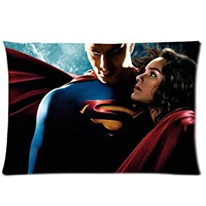 Home Decorative Superman Custom Zippered Pillow Cases Vintage Decorative Case Cover 16x24 (Two sides)