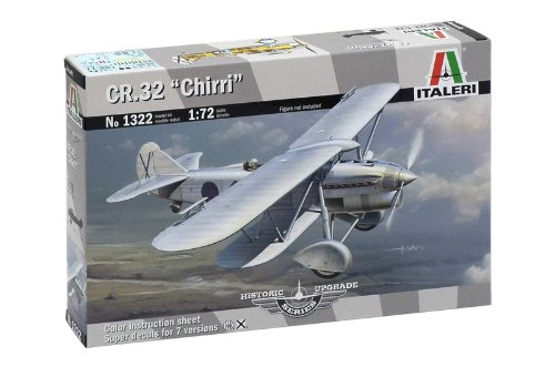 "3 opinioni per Italeri 1322- Cr.32 ""Chirri"" Historic Upgrade Model Kit Scala 1:72"