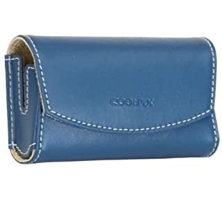 Nikon CS-S12 Leather Case for Coolpix Blue Horizontal (B002HHY0LE) | Amazon Products