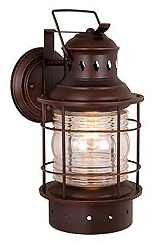 Vaxcel One Light Outdoor Wall Light OW37051BBZ One Light Outdoor Wall Light - One light outdoor wall light from the Hyannis collection Height: 12.25 inches Width: 5.50 inches Style: rustic light Type: outdoor wall - patio, outdoor-lights, outdoor-decor - 41javzmZ%2BML -