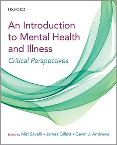 A Critical Introduction to Mental Health and Illness - Original PDF