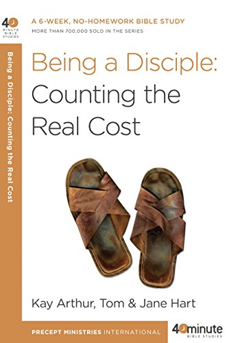 Being a Disciple: Counting the Real Cost (40-Minute Bible - Cost Real