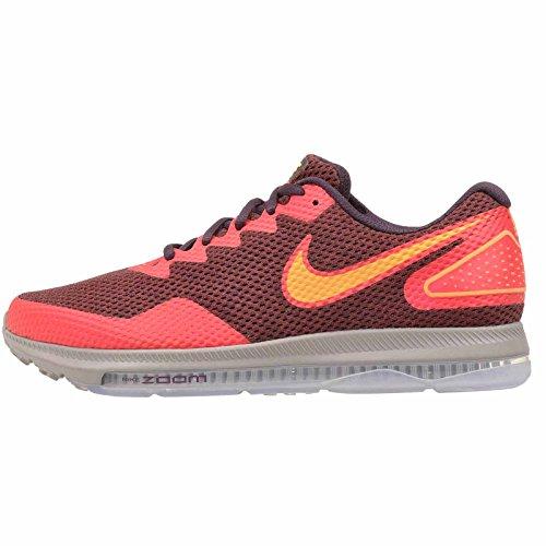 Nike Men's Zoom All Out Low 2, Port Wine/Laser Orange, 11 M US