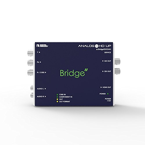 Digital Forecast Bridge 1000_AH : Analog to HD-SDI with HDMI out Converter by Bridge 1000_AH