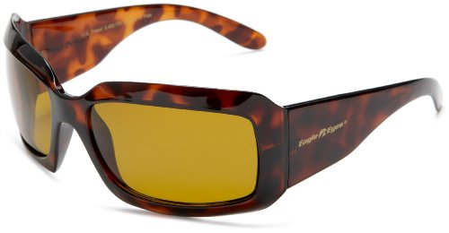 Eagle Eyes Gemstone Women's Sunglasses - Topaz Tortoise Frames, Polarized Sunglasses for - 50s Style Futuristic