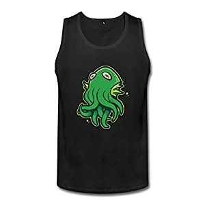 XXL Bert Pandora Mens Funny Call Of Octopus Funny Tank Top
