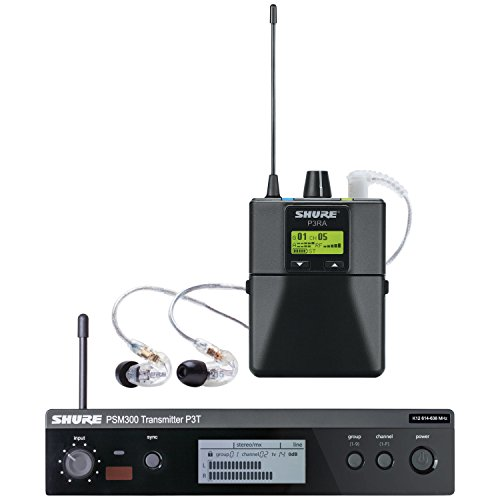 Shure P3TRA215CL PSM 300 Wireless In-Ear Monitor System by Shure