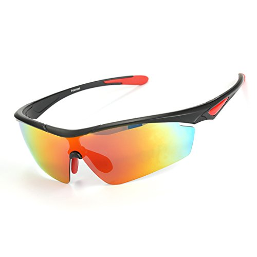 ODODOS Polarized Sunglasses for Driving Cycling Baseball Running Fishing UV100 Unbreakable Frame - Goodr Running Sunglasses