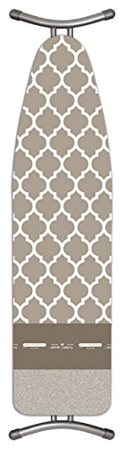 Laundry Solutions by Westex Advanced European Tuscany Ironing Board Cover, Cafe
