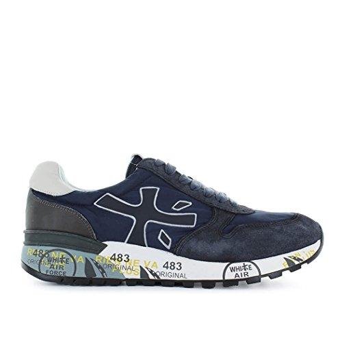 PREMIATA Sneakers Uomo MICK2818 Tessuto Blu