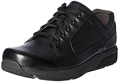 ROCKPORT Women's Trustride Prowalker Waterproof Shoes, Black, 5 US