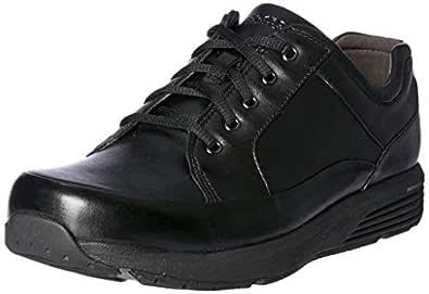 ROCKPORT Women's Trustride Prowalker Waterproof Shoes, Black, 5 US